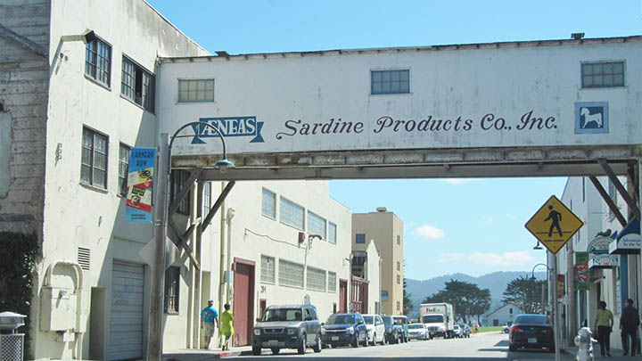 Cannery Row filming location in Monterey County