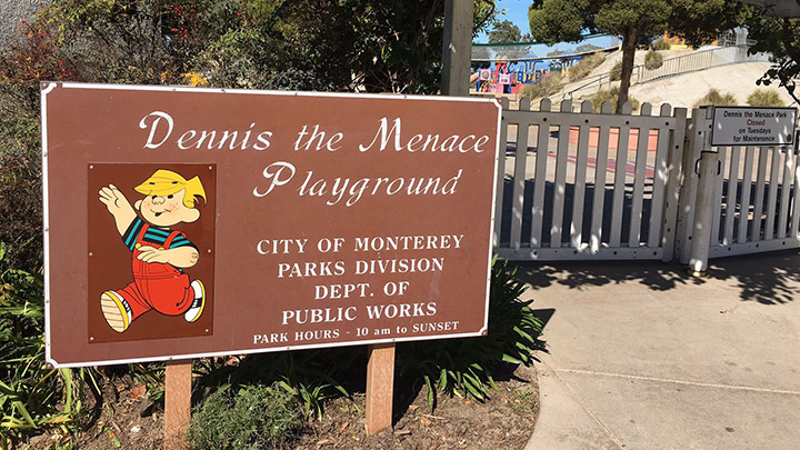 Dennis the Menace Park filming location in Monterey County