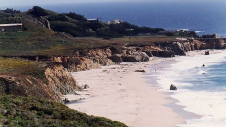 Garrapata State Park filming location in Monterey County