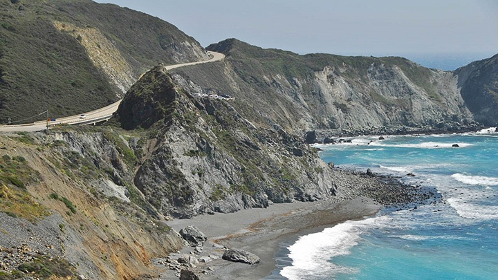 Highway 1 filming location in Monterey County