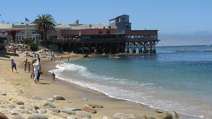 McAbee Beach filming location in Monterey County
