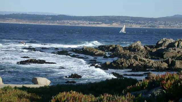 Monterey Coastline filming location in Monterey County