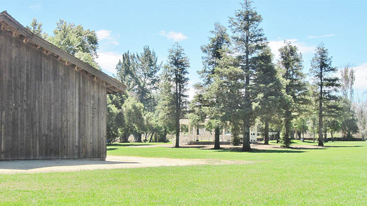 San Lorenzo Park filming location in Monterey County