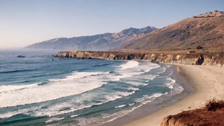 Sand Dollar Beach Big Sur filming location in Monterey County