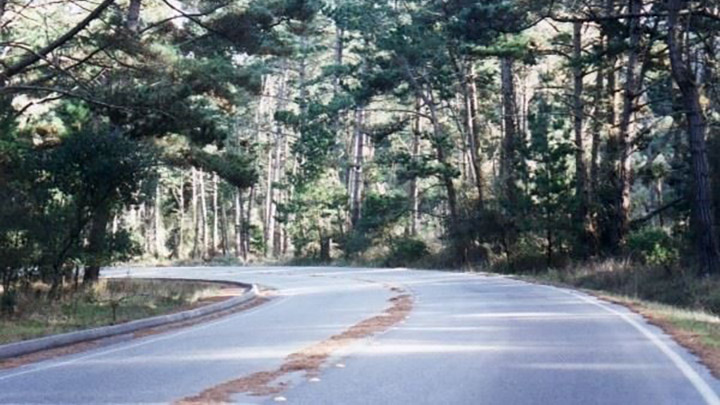 Skyline Drive filming location in Monterey County