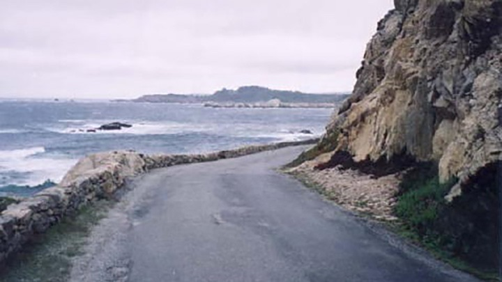Spindrift Road filming location in Monterey County