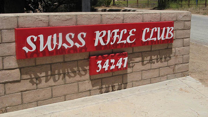 Swiss Riffle Club filming location in Monterey County