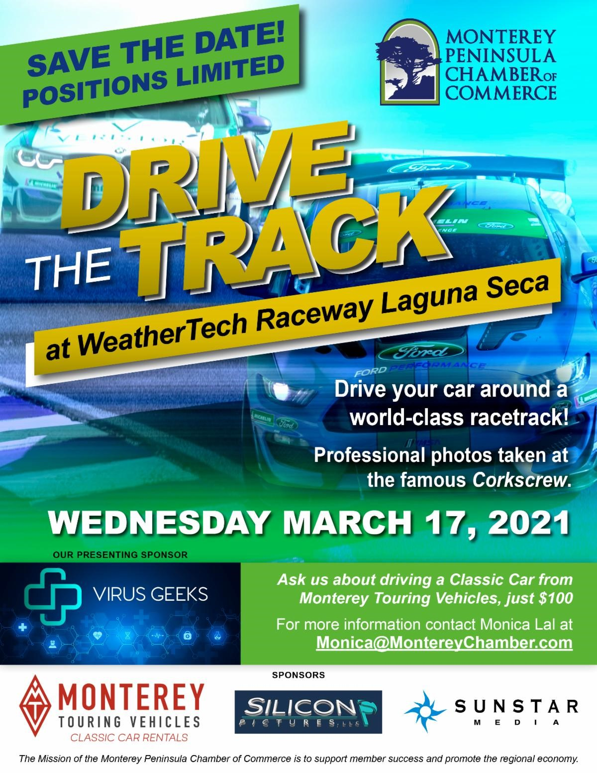 Drive the Track flyer - 3-17-21